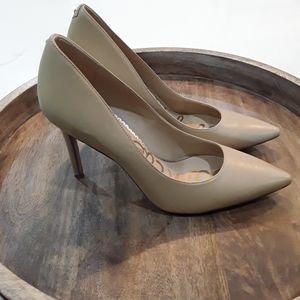 Sam Edelman | Hazel Pointy Toe Tan Stiletto Pumps